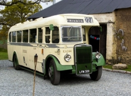 Vintage bus for wedding hire in Taunton